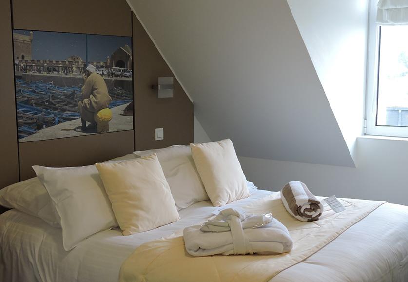 Chambre hotel brehat confort single
