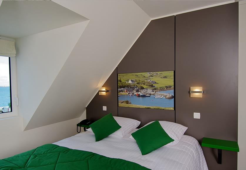 Chambre duplex latérale Port-Shetland