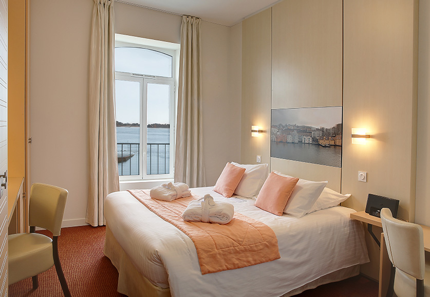Chambre supérieure vue mer Bréhat - Bergen