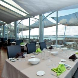 Salle de restaurant 360° Bréhat