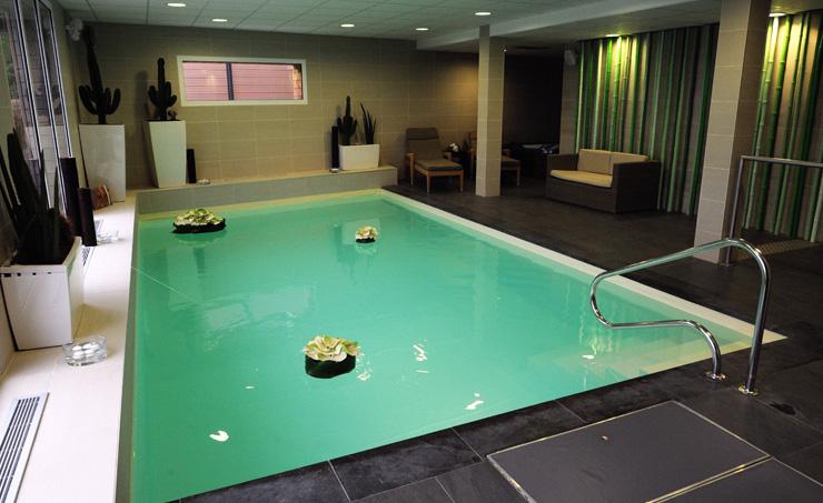 La piscine relaxante des terrasses de Bréhat
